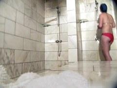 Hot Russian Shower Room Voyeur Video  18
