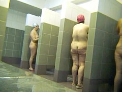 Hot Russian Shower Room Voyeur Video  52