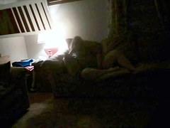 Voyeur spy cams filmed a chick jilling off