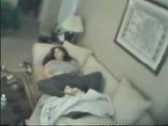 BBW Hidden Cam Masturbation