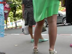 Nice amateur video from the awesome upskirt collection