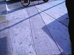 Milf in flip flops sexy street candid voyeur video view and download now