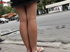 Only free upskirt clips with random brunette lady