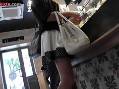 Boyfriend will be angry watching upskirt voyeur tumblr