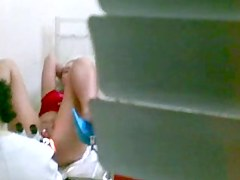Video showing a medical exam of a gorgeous girl