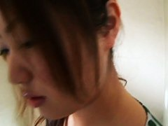 Incredible Asian bazoongas on a downblouse video