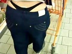 boy catches his big ass mother thong slip part 2 2014