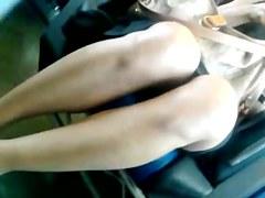 Voyeur cam sex video is showing a gorgeous chick