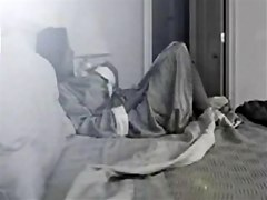 Good idea to place hidden cam in milf bedroom !!