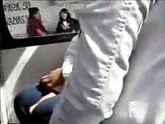 GROPED BEAUTIFUL ASS IN THE BUS
