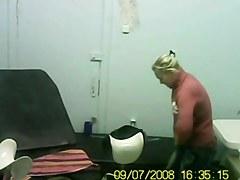 Blonde visited my doctor.