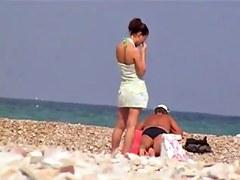 PJ Spy at beach # 5