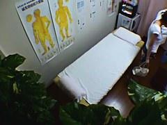 Slim bodied amateur hardly massaged on voyeur camera