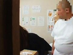 Japanese girl receives dirty massage on a hidden cam