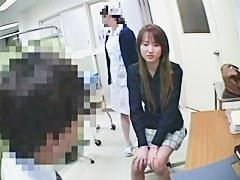 産婦人科に診察に来た元ヤン系若妻の陰部に悪戯