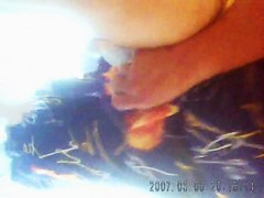 Amateur mature got her old pussy shot on piss cam closeups