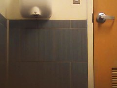 Girl loses jeans down and gets her toilet pissing voyeured