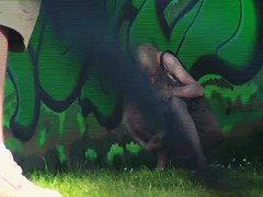 Man with pee hidden cam recorded amateur pissing in public