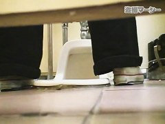 Girls pissing closeups shot from behind and in front