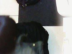 Hidden cam voyeur video with amateur ass on the toilet