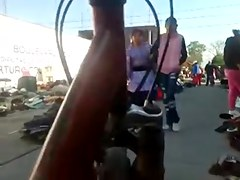 Mostrando la tanga en Mexico #05
