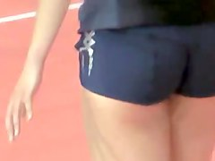 incredible and sexy asses (volleyball players)