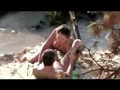Nude Beach - So Hot Sucking & Fucking captured by Voyeur