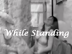 While Standing Vol.21 - Female Masturbation Compilation