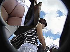 Huge ass upskirt video