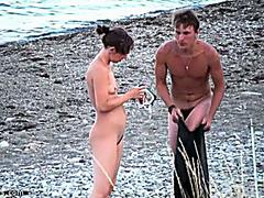 Seashore nudists