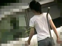 Video Voyeur Meets Thin Beauty At Japanese Spa