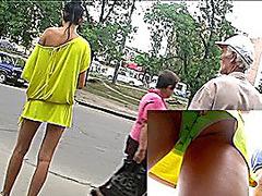 Up yellow mini costume