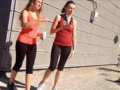 Candid - Culs moulant de joggeuses