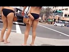 Nice beach butts