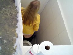 Girl in restroom 2