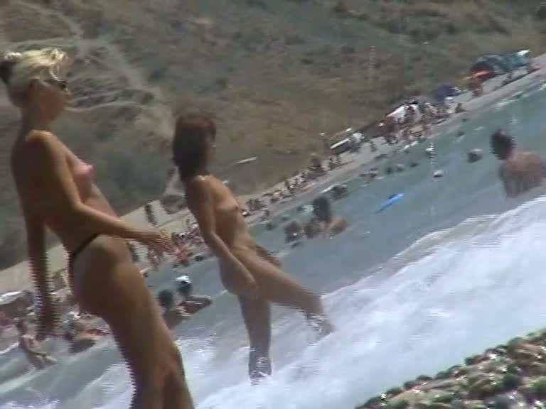 Hot naked babes in candid camera sexy videos