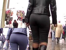 Recent slender taut panties clip
