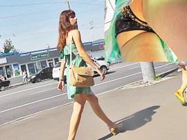 Upskirt hidden webcam discharged gals hawt panty
