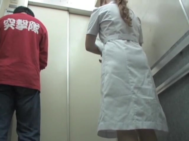 Voyeur sharking scenes with sexy nurse panty uncovered