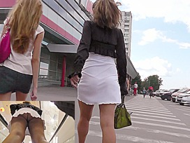 String panty upskirt movie scene