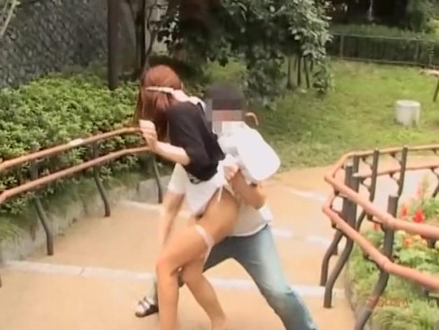 Japanese teen pussy fingered by a nasty skirt shark