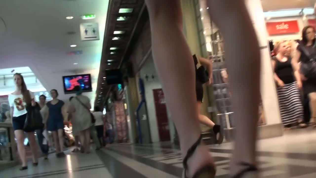 Amazing upskirt video of marvelous babes