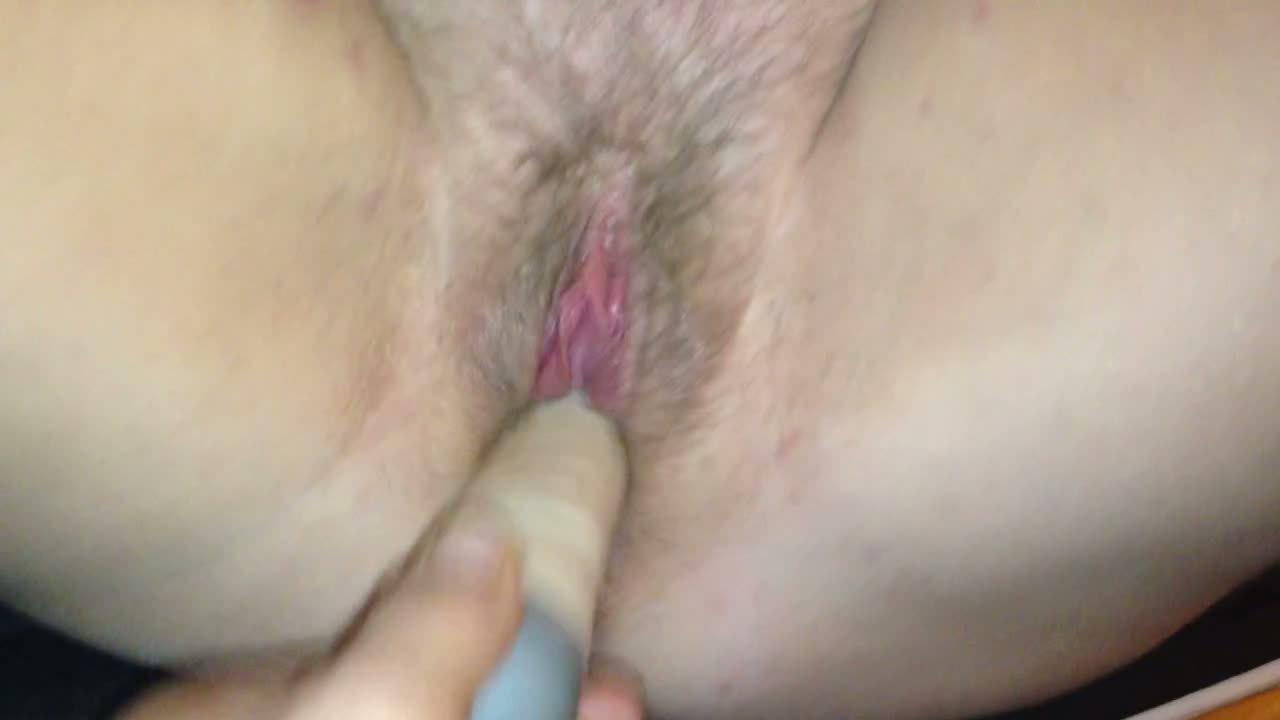 British wife ......fucking my fake penis hard