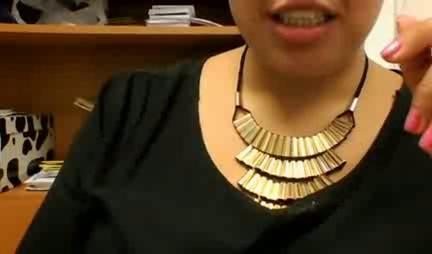 secretaria en la webcams 1