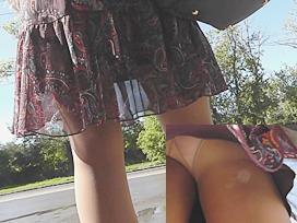 Palatable butt up paisley petticoat