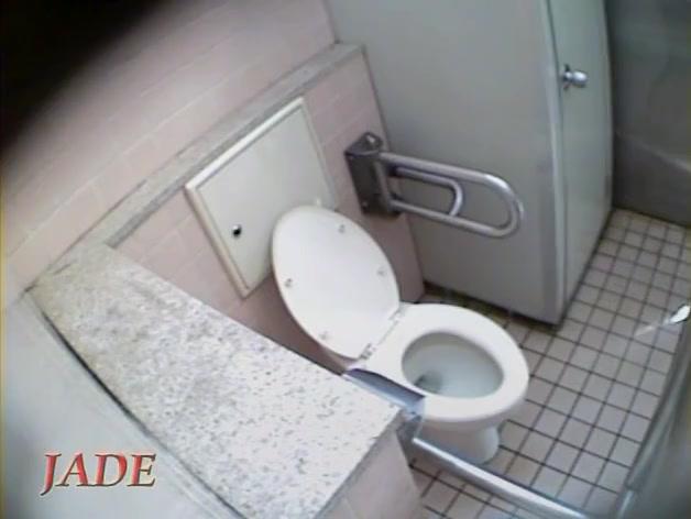 Schoolgirl talks to her bf and masturbates on toilet spy cam