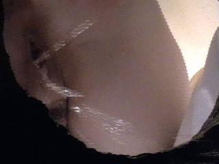 Gal pees in cesspool