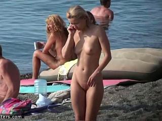 Howdy, nudist cutie